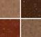 Stock Image : Seamless coffee pattern