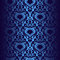 Stock Image : Seamless dark blue wallpaper.