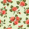 Stock Image : Seamless Floral  pattern 7