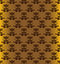 Stock Image : Seamless gold pattern