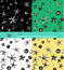 Stock Image : Seamless pattern background of star
