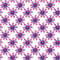 Stock Image : Seamless pattern with bright abstract flowers, hand-drawn.