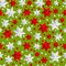 Stock Image : Seamless pattern with Christmas decorations