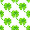 Stock Image : Seamless pattern with clover