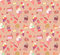 Stock Image : Seamless pattern with doodle vector kawaii illustration.