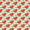 Stock Image : Seamless pattern of  hearts