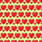 Stock Image : Seamless Pattern With Row of Heart