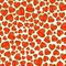 Stock Image : Seamless Pattern With Watelmelons In Heart Shape