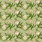 Stock Image : Seamless pattern with white tulips flowers