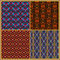 Stock Image : Seamless patterns in oriental style