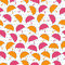 Stock Image : Seamless umbrella pattern