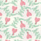 Stock Image : Seamless Valentines Day pattern