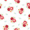 Stock Image : Seamless vintage Rose Pattern