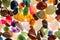 Stock Image : Semi Precious Gem Stones