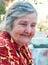 Stock Image : Senior woman.