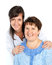 Stock Image : Senior woman with her caregiver