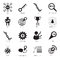 Stock Image : SEO icons. Search engine optimization icons