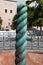 Stock Image : Serpentine Column