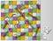 Stock Image : Serpientes y juego de mesa de las escaleras