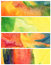 Stock Image : Set of abstract acrylic and watercolor painted background.
