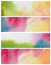 Stock Image : Set of abstract watercolor painted background. Paper