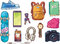 Stock Image : Set of Clothes and Accessories