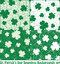 Stock Image : Clover seamless patterns