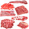 Stock Image : Set of different meat products