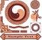Stock Image : Set of Oriental Design Elements