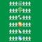 Stock Image : Set of papercut figures holding ecological symbols -vector eps8