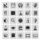 Stock Image : Set of school icons