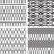 Stock Image : Set of seamless pattern