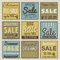 Stock Image : Set of special sale offer labels and banners