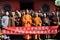 Stock Image : Shaolin monks