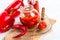 Stock Image : Sharp tomatoes paste