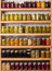 Stock Image : Shelves of canned goods