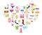Stock Image : Shopping icons