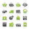 Stock Image : Shopping and retail icons