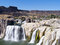Stock Image : Shoshone Falls Idaho on a beautiful sunny day