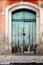Stock Image : Sicilian old door