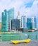 Stock Image : Singapore embankment