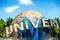 Stock Image : SINGAPORE - OCT, 28 UNIVERSAL STUDIOS SINGAPORE on October 28,2014. It is a park at Resorts World Sentosa, Singapore.