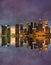Stock Image : Singapore Skyline at sunset