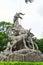 Stock Image : Sites-Five-ram Sculpture (front)