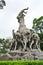 Stock Image : Sites-Five-ram Sculpture (side 2)