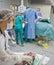 Stock Image : Sitio del nacimiento en maternidad