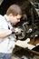 Stock Image : Skilled auto mechanic