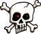 Stock Image : Skull