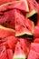 Stock Image : Sliced watermelon