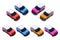 Stock Image : Small cars, MINI